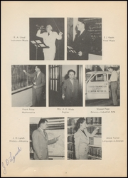 Page 11, 1949 Edition, Clinton High School - Tornado Yearbook (Clinton, OK) online yearbook collection