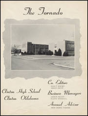 Page 5, 1953 Edition, Clinton High School - Tornado Yearbook (Clinton, OK) online yearbook collection