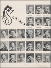 Page 14, 1954 Edition, Clinton High School - Tornado Yearbook (Clinton, OK) online yearbook collection