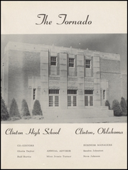 Page 5, 1954 Edition, Clinton High School - Tornado Yearbook (Clinton, OK) online yearbook collection