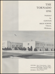 Page 5, 1956 Edition, Clinton High School - Tornado Yearbook (Clinton, OK) online yearbook collection