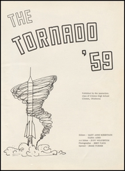 Page 5, 1959 Edition, Clinton High School - Tornado Yearbook (Clinton, OK) online yearbook collection