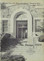 Page 5, 1959 Edition, Broken Bow High School - Savage Yearbook (Broken Bow, OK) online yearbook collection