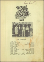 Page 3, 1939 Edition, Coweta High School - Tiger Tales Yearbook (Coweta, OK) online yearbook collection
