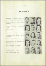 Page 13, 1942 Edition, Coweta High School - Tiger Tales Yearbook (Coweta, OK) online yearbook collection