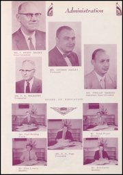 Page 9, 1959 Edition, Coweta High School - Tiger Tales Yearbook (Coweta, OK) online yearbook collection