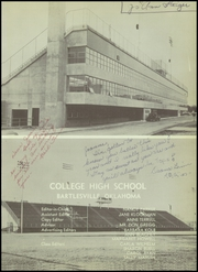 Page 5, 1955 Edition, College High School - Col Hi Yearbook (Bartlesville, OH) online yearbook collection