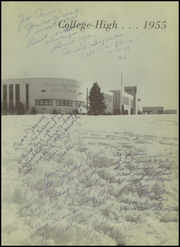 Page 7, 1955 Edition, College High School - Col Hi Yearbook (Bartlesville, OH) online yearbook collection