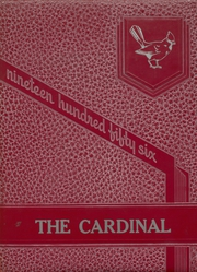 1956 Edition, Collinsville High School - Cardinal Yearbook (Collinsville, OK)