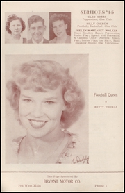Page 12, 1945 Edition, Henryetta High School - Squab Yearbook (Henryetta, OK) online yearbook collection