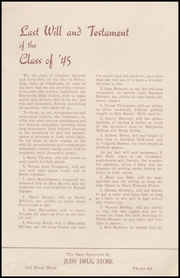 Page 13, 1945 Edition, Henryetta High School - Squab Yearbook (Henryetta, OK) online yearbook collection