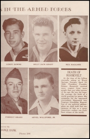 Page 17, 1945 Edition, Henryetta High School - Squab Yearbook (Henryetta, OK) online yearbook collection