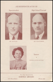 Page 5, 1945 Edition, Henryetta High School - Squab Yearbook (Henryetta, OK) online yearbook collection