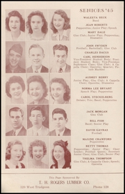 Page 8, 1945 Edition, Henryetta High School - Squab Yearbook (Henryetta, OK) online yearbook collection