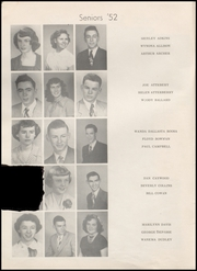 Page 12, 1952 Edition, Henryetta High School - Squab Yearbook (Henryetta, OK) online yearbook collection