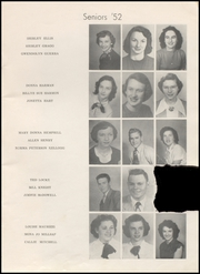 Page 13, 1952 Edition, Henryetta High School - Squab Yearbook (Henryetta, OK) online yearbook collection