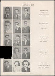 Page 14, 1952 Edition, Henryetta High School - Squab Yearbook (Henryetta, OK) online yearbook collection