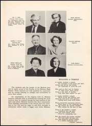 Page 13, 1953 Edition, Bristow High School - Log Yearbook (Bristow, OK) online yearbook collection