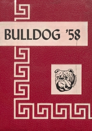 Skiatook High School - Bulldog Yearbook (Skiatook, OK) online yearbook collection, 1958 Edition, Page 1