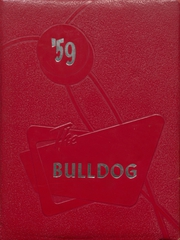 Skiatook High School - Bulldog Yearbook (Skiatook, OK) online yearbook collection, 1959 Edition, Page 1