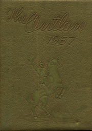 Marlow High School - Outlaw Yearbook (Marlow, OK) online yearbook collection, 1957 Edition, Page 1