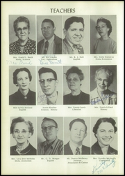 Page 12, 1956 Edition, Stilwell High School - Indian Yearbook (Stilwell, OK) online yearbook collection