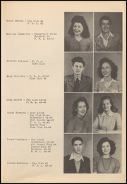 Page 17, 1946 Edition, Checotah High School - Wildcat Yearbook (Checotah, OK) online yearbook collection