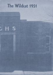 1951 Edition, Checotah High School - Wildcat Yearbook (Checotah, OK)