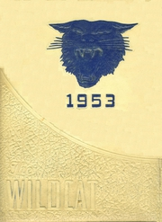 1953 Edition, Checotah High School - Wildcat Yearbook (Checotah, OK)
