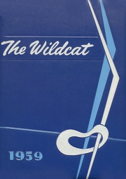 1959 Edition, Checotah High School - Wildcat Yearbook (Checotah, OK)
