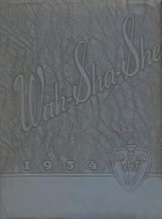 Page 1, 1954 Edition, Pawhuska High School - Wa Sha She Yearbook (Pawhuska, OK) online yearbook collection