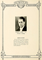 Page 8, 1932 Edition, Indianapolis College of Pharmacy - Mistura Yearbook (Indianapolis, IN) online yearbook collection