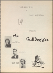 Page 5, 1947 Edition, Dewey High School - Bulldogger Yearbook (Dewey, OK) online yearbook collection