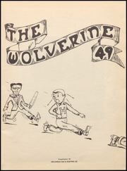 Page 7, 1949 Edition, Holdenville High School - Owl Yearbook (Holdenville, OK) online yearbook collection