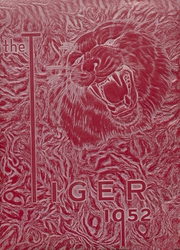 1952 Edition, Fort Gibson High School - Tiger Yearbook (Fort Gibson, OK)