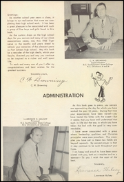 Page 11, 1955 Edition, Fort Gibson High School - Tiger Yearbook (Fort Gibson, OK) online yearbook collection