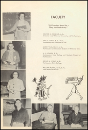 Page 12, 1955 Edition, Fort Gibson High School - Tiger Yearbook (Fort Gibson, OK) online yearbook collection