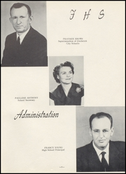 Page 5, 1955 Edition, Frederick High School - Bomber Yearbook (Frederick, OK) online yearbook collection