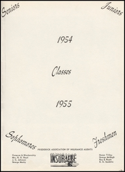 Page 9, 1955 Edition, Frederick High School - Bomber Yearbook (Frederick, OK) online yearbook collection