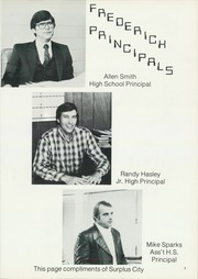 Page 7, 1983 Edition, Frederick High School - Bomber Yearbook (Frederick, OK) online yearbook collection