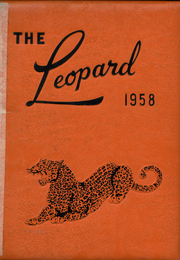 1958 Edition, Lindsay High School - Leopard Yearbook (Lindsay, OK)
