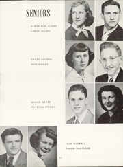 Page 15, 1952 Edition, Alva High School - Goldbug Yearbook (Alva, OK) online yearbook collection