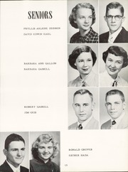 Page 17, 1952 Edition, Alva High School - Goldbug Yearbook (Alva, OK) online yearbook collection