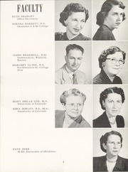 Page 9, 1952 Edition, Alva High School - Goldbug Yearbook (Alva, OK) online yearbook collection