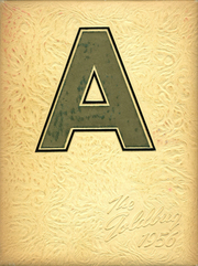 Alva High School - Goldbug Yearbook (Alva, OK) online yearbook collection, 1956 Edition, Page 1