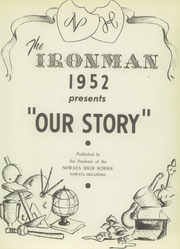 Page 7, 1952 Edition, Nowata High School - Ironman Yearbook (Nowata, OK) online yearbook collection