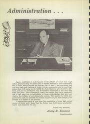 Page 12, 1951 Edition, Central High School - Chieftain Yearbook (Muskogee, OK) online yearbook collection