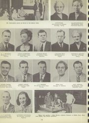 Page 16, 1951 Edition, Central High School - Chieftain Yearbook (Muskogee, OK) online yearbook collection