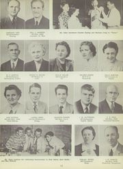 Page 17, 1951 Edition, Central High School - Chieftain Yearbook (Muskogee, OK) online yearbook collection