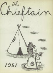 Page 5, 1951 Edition, Central High School - Chieftain Yearbook (Muskogee, OK) online yearbook collection